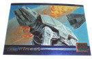Star Wars Topps Galaxy #SWGM3 Snowspeeder/AT-AT Promo card