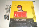 1983 Star Wars ROTJ Topps Series 1 Empty Wax Wrapper w/Luke