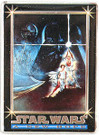 "Star Wars Metallic Images Style ""A"" Poster Art Metal Promo Card P1"