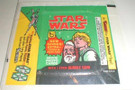 1978 Star Wars Topps Series 4 Wax Wrapper Ben & Luke w/Kenner ad
