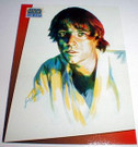 Star Wars Just Toys Bend-ems #G Luke promo card
