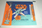 1978 Star Wars Topps Series 5 Wax Wrapper X-Wing w/Kenner ad