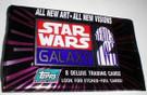Star Wars Topps Galaxy 2 Empty Red/purple Foil Wrapper