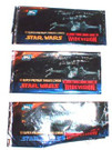 Star Wars Topps Widevision Set of 3 Empty Wrappers