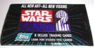 Star Wars Topps Galaxy 2 Empty Blue/green Foil Wrapper
