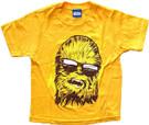 Star Wars Kids Chewbacca w/Sunglasses Wild Child Orange T-Shirt Size 12M