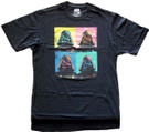 Star Wars Men's Darth Vader Squares Black T-Shirt Big & Tall Size XLT