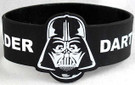 Star Wars Darth Vader Black Rubber Wristband