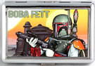Star Wars Boba Fett Cloud City Large Metal Business Card Holder
