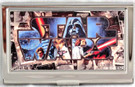 Star Wars International Poster Art Small Metal Business Card Holder