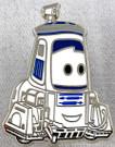 Star Wars Disney Pixar Cars R2-D2 Guido Metal Pin