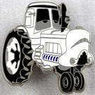 Star Wars Disney Pixar Cars Stormtrooper Tractor Metal Pin