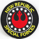 Star Wars New Republic Special Forces Black Border Embroidered Patch