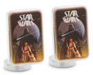 Star Wars Ep4 Vintage Darth Vader Poster Art Cufflinks in Box. Officially Licensed