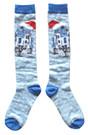 Star Wars R2-D2 Santa Cap Junior/Women's Christmas Socks Shoe Size 4-10