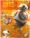 Star Wars Force Awakens BB-8 Droid School Folder