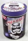 Star Wars Captain Phasma Round Tin Coin Bank 4 inch