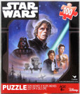 Star Wars ROTJ Luke Han Leia Art Scene 100pc Puzzle