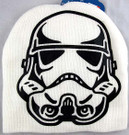Star Wars Stormtrooper Face White Boys/Adult Beanie