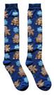 Star Wars Gingerbread Characters Junior/Women's Christmas Socks Shoe Size 4-10