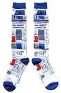Star Wars R2-D2 Ugly Sweater Pattern Junior/Women's Christmas Socks Shoe Size 4-10