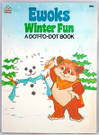 1986 Star Wars Ewoks Winter Fun Dot-To-Dot / Coloring Activity Book