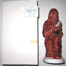 1980 Star Wars Chewbacca Sigma Ceramic Coin Bank w/box & tag