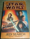 Star Wars Jedi Search Paperback novel