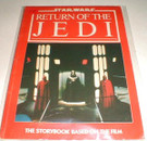 1983 England Star Wars ROTJ storybook, softcover. Wear