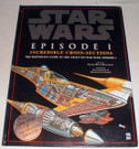 Star Wars Episode 1 Incredible Cross-Sections Hardcover book