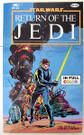 1983 Star Wars ROTJ Official Comics version Paperback (shows wear)