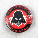 Star Wars Darth Vader Sith Lord Button