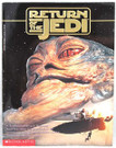 1997 Star Wars Return of the Jedi Storybook Paperback Book