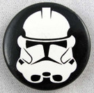 Star Wars Clone Trooper Button 1.25""