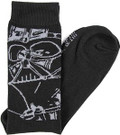 Star Wars Darth Vader Men's Crew Socks Shoe Size 6-12