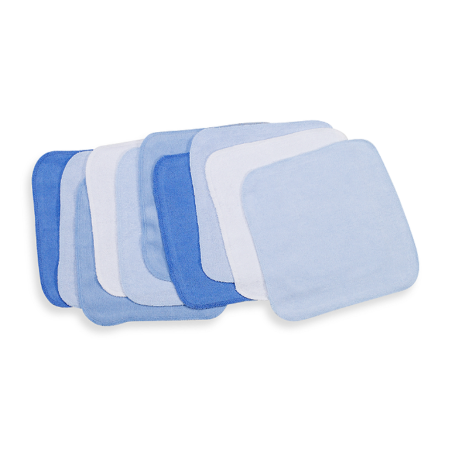 Blue Elephant 10-Count by Spasilk Spasilk Washcloths
