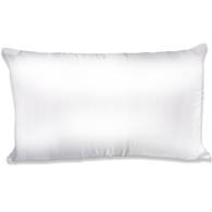Spasilk Satin Pillowcase, King Size, White