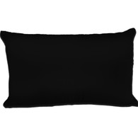 Spasilk Satin Pillowcase, Queen, Black