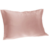 Spasilk Satin Pillowcase, Queen, Blush