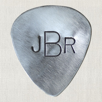 Monogrammed Guitar Pick
