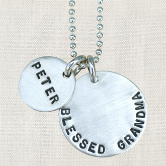 Blessed Grandma Custom Name Necklace