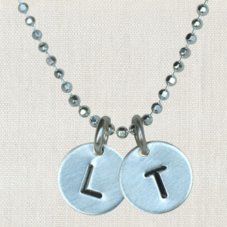 Itty Bitty Initial Necklace