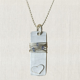 You Are Loved {necklace for a cause}