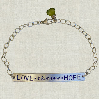 MaxLove Love ~ Thrive ~ Hope Bracelet