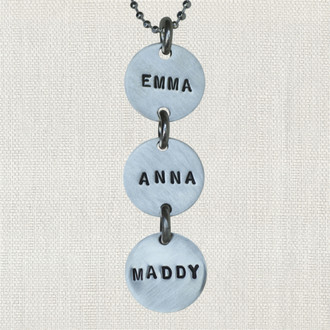 Three Is The Magic Number Necklace