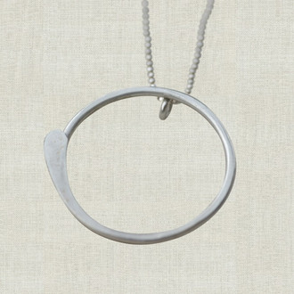 Zen Circle Necklace