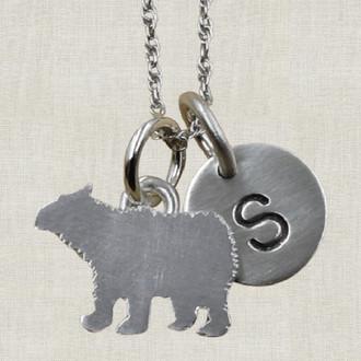 Little Bear Charm Necklace