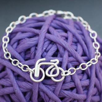 Wire Bike Bracelet