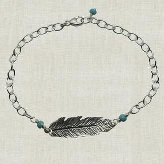 Deluxe Feather Bracelet