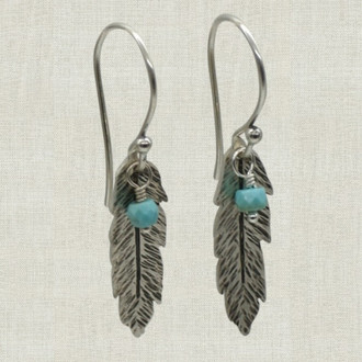 Deluxe Feather Earrings